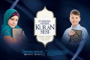 """Pendik Müftülüğü Çocuklar İçin Başlatılan """"Kur'an-ı Kerim'i Güzel Okuma Yarışması""""na Destek Veriyor"""