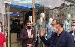 Ahmet Cin Pendikliler'in Ramazan Bayramı'nı Tebrik Etti