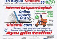 Kıdemli'nin WhatsApp ve Online Sipariş Hattı Devrede