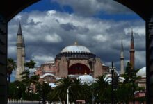 """Yunanistan'ın Sosyal Medya Gündemi """"Ayasofya Camii"""""""